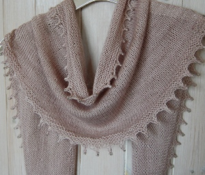 Knit Me looking ethereal in Boudoir with silver-centre beads