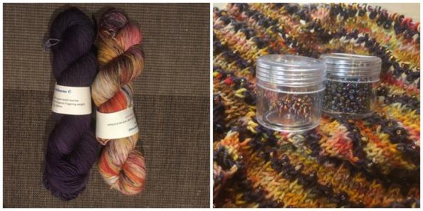 Monicaza's bead-tastic Affinity using Whimzy Sokkusu yarn
